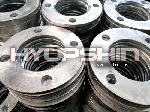 Backing ring flange for hdpe pipe hot galvanized